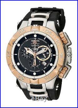 12880 Invicta Men 50mm Subaqua Noma V Swiss Quartz Chronograph Black Strap Watch