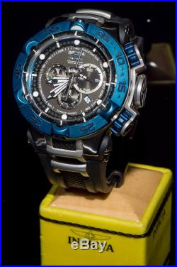 12881 Invicta Men 50mm Subaqua Noma V Swiss Quartz Chronograph Black Strap Watch