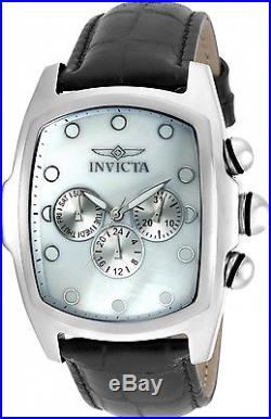 19948 Invicta Men's Grand Lupah Quartz Watch with Five-Piece Leather Strap Set