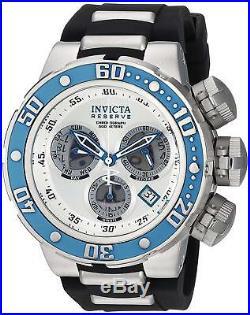 21644 Invicta Reserve Men 52mm Subaqua Sea Dragon Quartz Chronograph Strap Watch