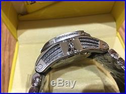21808 Invicta Reserve Mens 52mm Bolt Zeus Swiss Quartz Chronograph Strap Watch
