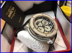 22940 Invicta Reserve Subaqua Sea Dragon Wood Men 52mm Maple Leather Strap Watch