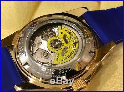23682 Invicta Pro Diver Automatic Men's 40mm SS Case Blue Silicone Strap Watch