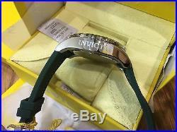 23738 Invicta Pro Diver 52mm Men's Quartz Green Dial Polyurethane Strap Watch