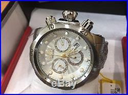 23887 Invicta Men's 52mm Venom Quartz Chronograph Stainless Steel Bracelet Watch