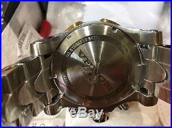 23889 Invicta Men's 52mm Venom Quartz Chronograph Stainless Steel Bracelet Watch