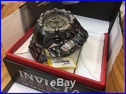 24269 Invicta Men's 52mm Excursion Touring Quartz Chronograph SS Bracelet Watch
