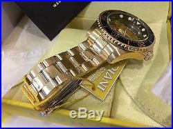 24694 Invicta Pro Diver Mechanical Ghost Bridge Dial Mens 47mm SS Bracelet Watch