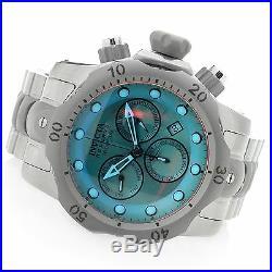 25043 Invicta Reserve Venom Men 53mm Swiss Quartz Chronograph SS Bracelet Watch