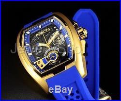 26399 Invicta Men's Tonneau DIABLO EDITION Swiss Chronograph Silicone Strap Watc