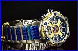 27485 Invicta Bolt Marvel X-MEN MYSTIQUE Multifunction Blue SS Bracelet Watch