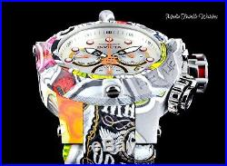 50MM Invicta Men's THE SUBAQUA GRAFFITI Hydroplated Swiss Quartz Bracelet Watch