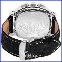 Akribos XXIV AK462SS Multi Function Diamond Swiss Quartz Leather Mens Watch