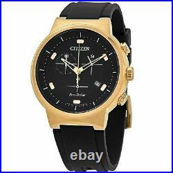 Citizen Men's Eco-Drive Chrono Rose Gold Case Watch AT2403-15E