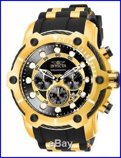 Genuine INVICTA Men's BOLT WATCH Chronograph Gold-Tone New 26751