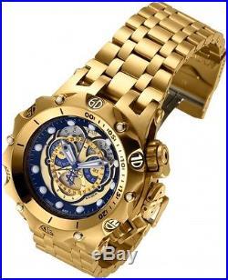 INVICTA 16804 Reserve Men 51mm Stainless Steel Gold Black+Gold Quartz Watch