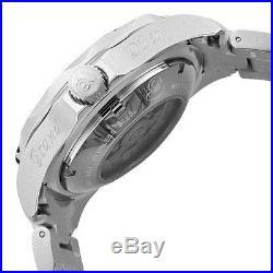 Invicta 10640 Men's Grand Diver Automatic Lume White Dial Steel Bracelet Watch