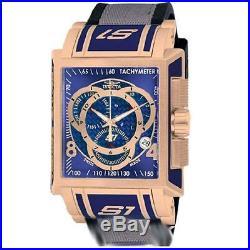 Invicta 11689 Men's S1 Touring Edition Blue Dial Rubber and Nylon Strap Watch