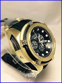 Invicta 12666 Mens Reserve Bolt Zeus Swiss Quartz Chronograph Gold Plated Watch