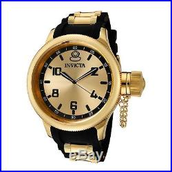 Invicta 1438 Men's Russian Diver Gold-Tone Quartz Watch