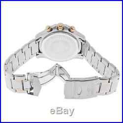 Invicta 14877 Men's Two Tone Rose Gold Bracelet Chrono Watch