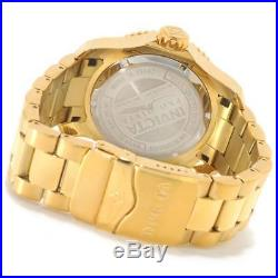 Invicta 15342 Men's Pro Diver Blue Dial Gold Plated Steel Watch