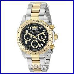 Invicta 17027 Men's Chrono Black Dial Two Tone Steel Dive Watch