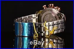 Invicta 17203 Men 48mm AVIATOR Tachymeter Chronograph Blue Dial Bracelet Watch