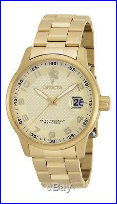 Invicta 17919 Men's Sea Base Gold Tone Dial Yellow Gold Steel Bracelet Watch