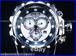 Invicta 20395 Men VENOM Sea Dragon Gen 2 Swiss Chrono Silver Dial/Case Watch