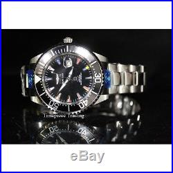 Invicta 21323 47mm Grand Diver International Automatic Black Dial SS Men's Watch