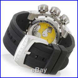 Invicta 21643 Men's Reserve Chronograph Black Silicone and Blue Dial SS Watch