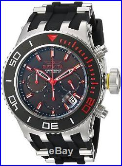 Invicta 22362 Subaqua Men's 52mm Chronograph Stainless Steel Black Dial Watch
