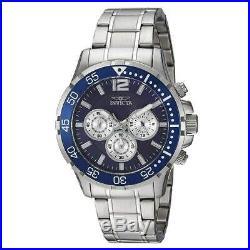Invicta 23664 Men's Specialty Chrono Blue Dial Steel Bracelet Watch