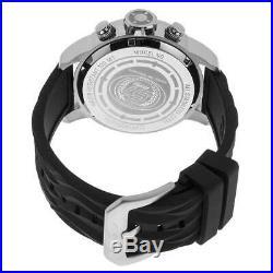 Invicta 23810 Men's Chrono Beige Dial Black Silicone Strap Watch