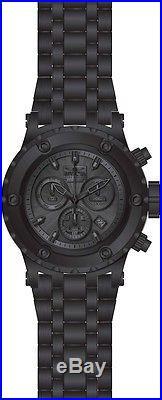 Invicta 23924 Men's Gunmetal Dial Black IP Steel Chrono Dive Watch