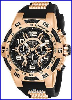 Invicta 24234 Men's Speedway Black Carbon Fiber Dial Chrono Watch