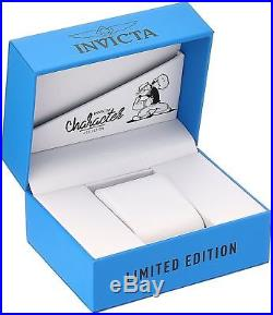 Invicta 24469 Men's Character Collection 47mm Automatic Silver Dial Watch