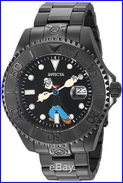 Invicta 24471 Men's Character Collection 47mm Automatic Black Dial Watch