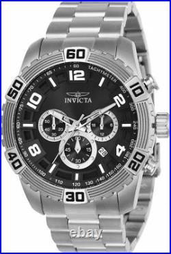 Invicta 24602 Men's'Pro Diver' Quartz Silver Stainless Steel Watch
