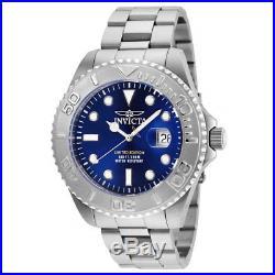 Invicta 24623 Men's Pro Diver Blue Dial Stainless Steel Bracelet Dive Watch