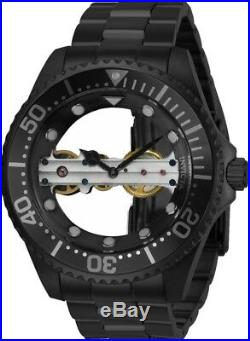 Invicta 24697 Men's Pro Diver 47mm Mechanical Black Dial Watch