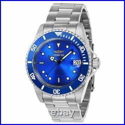 Invicta 24761 Men's Pro Diver Automatic Blue Dial Steel Bracelet Dive Watch
