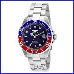 Invicta 24946 Men's Pro Diver Blue Dial Stainless Steel Bracelet Quartz Dive Wat