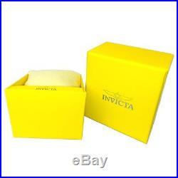 Invicta 24949 Men's Pro Diver Black Dial Yellow Gold Plated Steel Bracelet Dive