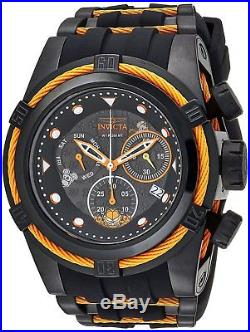 Invicta 25001 Character Collection Men's 53mm Stainless Steel Black Orange Watch