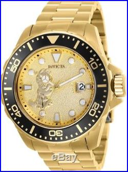 Invicta 25139 Character Collection Men's 50mm Gold-Tone Steel Automatic Watch