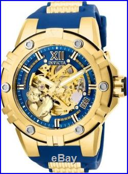 Invicta 25141 Character Collection Men's 50mm Gold-Tone Steel Automatic Skeleton