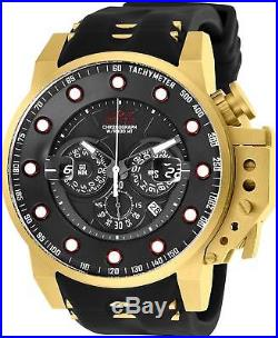 Invicta 25272 I-Force Men's 50mm Gold-Tone Stainless Steel Gold Black Dial Watch