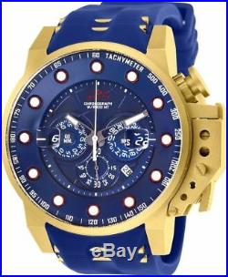 Invicta 25273 I-Force Men's 50mm Gold-Tone Stainless Steel Blue Dial Watch